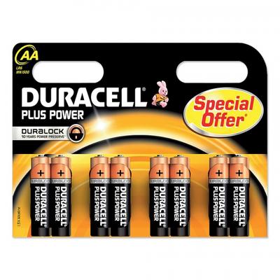 Duracell batterijen voor de spelcomputer